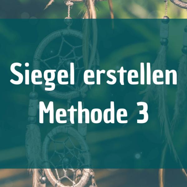 3 Arten ein Siegel zu erstellen - Methode 3